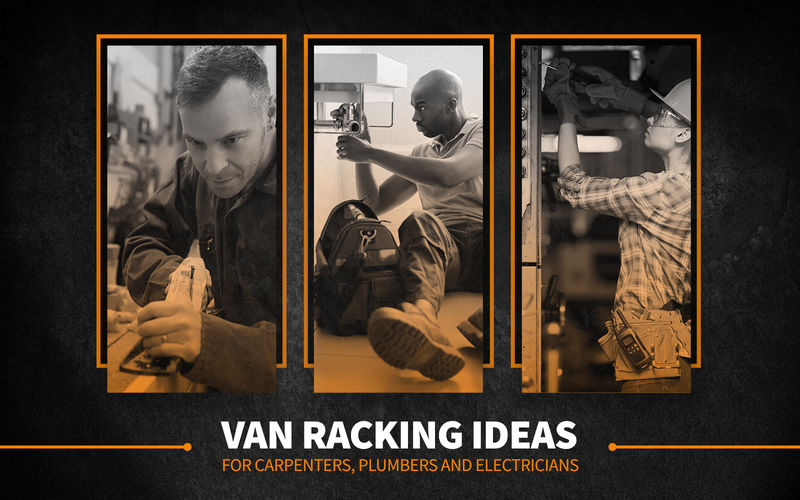 Van Racking Ideas for carpenters, plumbers and electricians