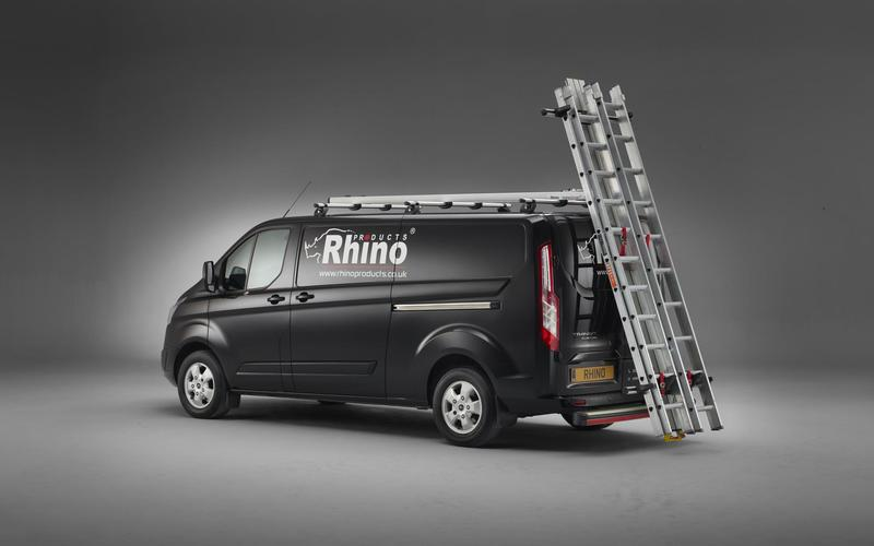 Introducing - Rhino SafeStow4 - The safe, easy option for loading ladders onto your van
