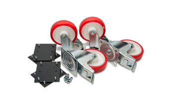 """6"""" Super Duty Castors with fixing kit (supply only)"""