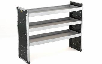 Single Unit with 3 Shelves 1000mm (h) x 1250mm (w)
