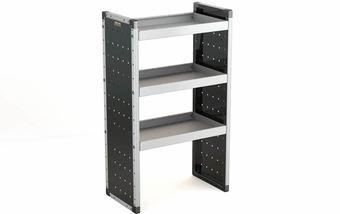 Single Unit with 3 Shelves 1250mm (h) x 750mm (w)