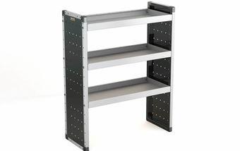 Single Unit with 3 Shelves 1250mm (h) x 1000mm (w)
