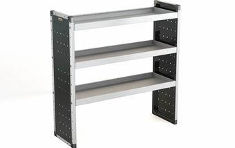 Single Unit with 3 Shelves 1250mm (h) x 1250mm (w)