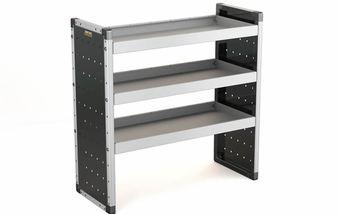 Single Unit with 3 Shelves 1000mm (h) x 1000mm (w)