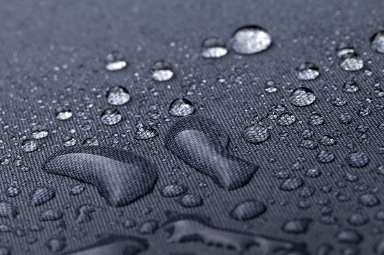 Waterdroplets on Black