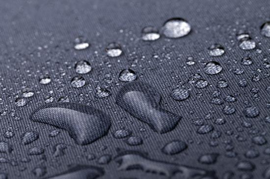 Waterdroplets on Black