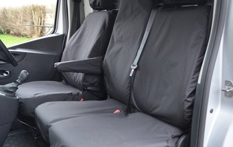 Fiat Talento 2016 on Single & Double Folding - Black