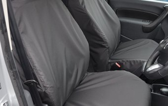 Renault Kangoo 2008 on Single & Single Non Folding - Black