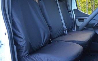 Renault Master 2010 on Single & Double Folding Non Split Base - Black