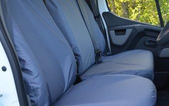 Renault Master 2010 on Single & Double Folding Non Split Base - Grey