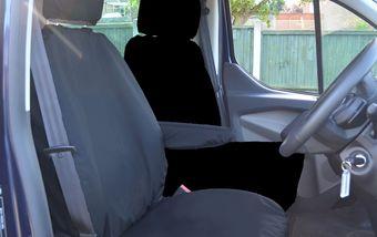 Ford Transit Custom 2013 on Single & Single - Black
