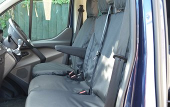 Ford Transit Custom 2013 on Single & Double - Black