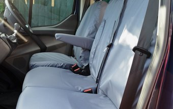 Ford Transit Custom 2013 on Single & Double - Grey
