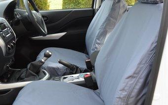 MERCEDES X-CLASS 2017 ON VAN SEAT COVERS & FLOOR MATS
