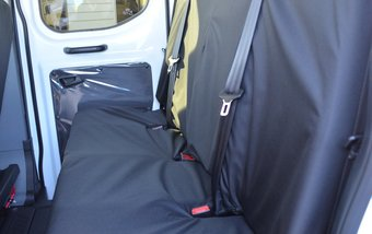 Ford Transit 2014 on Rear 4 Seater Bench - Black