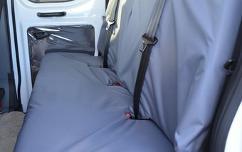Ford Transit 2014 on Rear 4 Seater Bench - Grey
