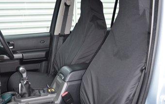 Land Rover Discovery 3 & 4 Single & Single - Black