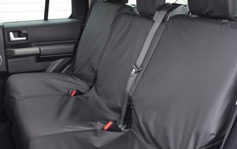 Land Rover Discovery 3 & 4 Rear 2nd Row 3 Single - Black