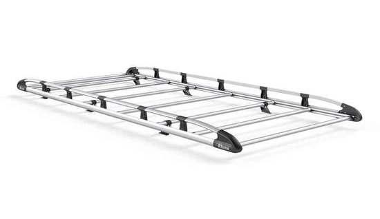 Aluminium Rack 8 Bars Front