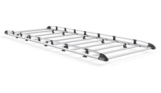 Aluminium Rack 11 Bars Front