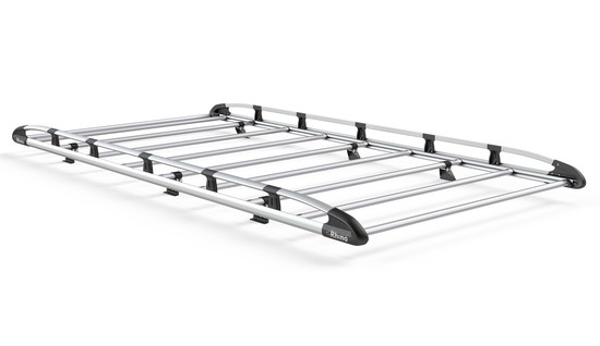 Aluminium Rack 9 Bars Front