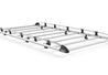 Aluminium Rack 9 Bars Front