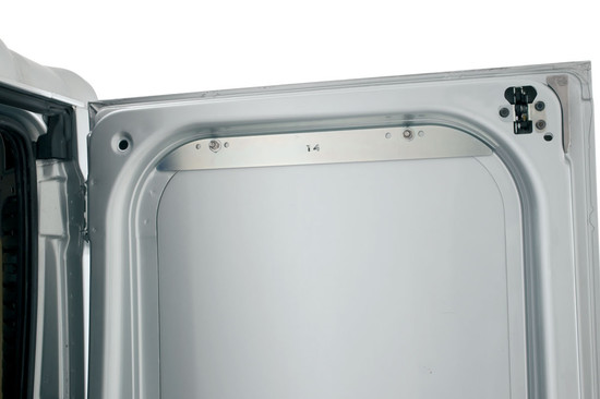 Rhino Rear Door Ladder Bracket Internal Closeup