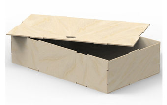 Storage Box With Lift Out Lid VL200/D