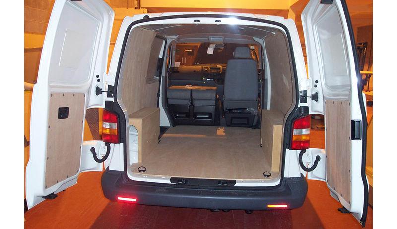 VW Transporter T6 SWB Van Ply lining kit