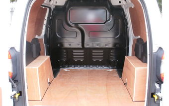 Ford Transit Courier 2014 on Short Wheel Base