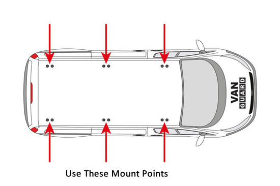 VG304 3 MOUNT POINTS