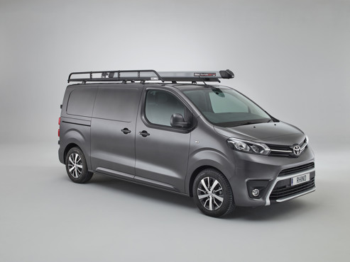 Toyota Proace 2016 onwards mod rack with pipetube pro