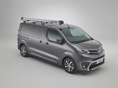 Toyota Proace 2016 onwards 3 Kamm bars with PipeTube Pro