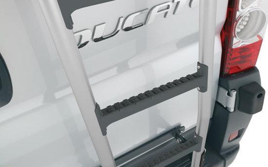 Fiat ducato aluminium ladder render