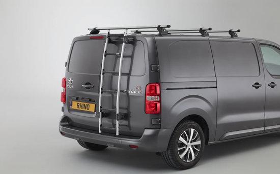 Toyota proace 2016 onwards aluminium ladder and kamm bars